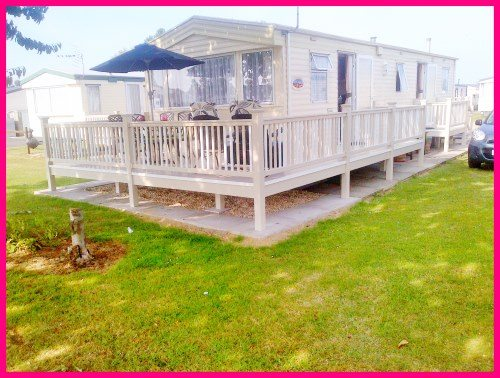 Skegness Caravan 356 - ABI Arizona - Large 3 Bedroom - Outside - veranda