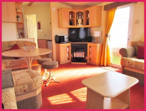 Skegness Caravan 356 - ABI Arizona - Large 3 Bedroom - Lounge Area