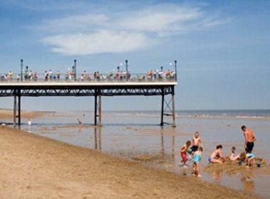 Skegness Pier and Beach
