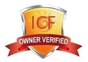 ICF Logo for Verified caravan holiday owner in Skegness