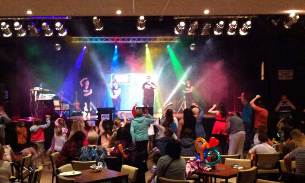 Stage show - Showcasing Family Entertainment at Skegness Caravan Holidays Park